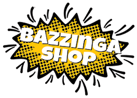 bazzinga shop comic logo