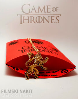 Game of Thrones Lanister zlatna fn
