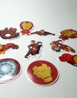 Iron Man Stikeri za laptop telefon kofer sto 1