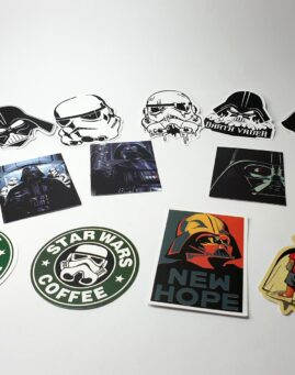 Star Wars Stikeri za laptop telefon kofer sto 1