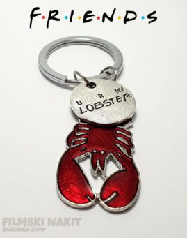 Friends Lobster Privezak 1