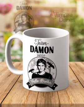 Team Damon Vampire Diaries Solja