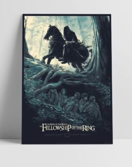 Gospodar Prstenova Lord of the Rings Alternativni Poster Druzina Prstena