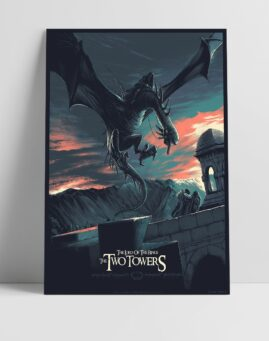 Gospodar Prstenova Lord of the Rings Alternativni Poster Dve Kule