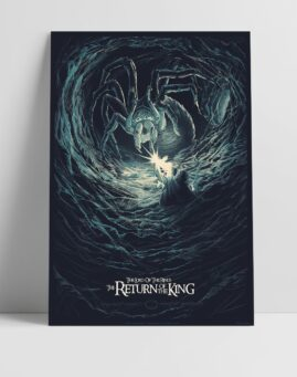 Gospodar Prstenova Lord of the Rings Alternativni Poster Povratak Kralja