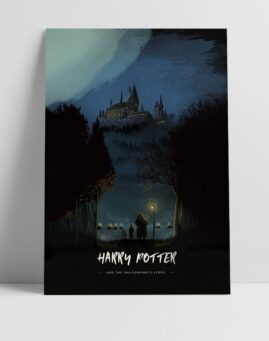 Hari Poter Kamen Mudrosti Poster Harry Potter and the Philosophers Stone Poster