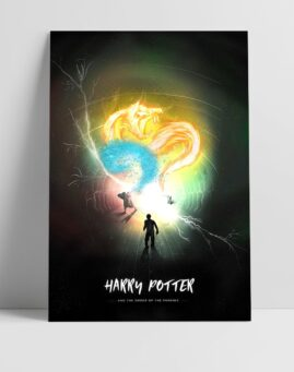 Hari Poter Red Feniksa Poster Harry Potter and the Order of the Phoenix Poster