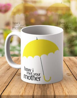 How I Met Your Mother Solja HIMYM Yellow Umbrellas