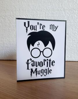 Harry Potter Favorite Muggle Cestitka 1