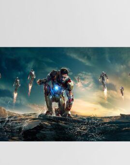 Iron Man 3 wide Poster