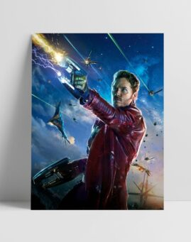 Star Lord Cuvari Galaksije Guardians of the Galaxy Poster