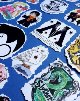 Harry Potter Stiker MegaPak 1