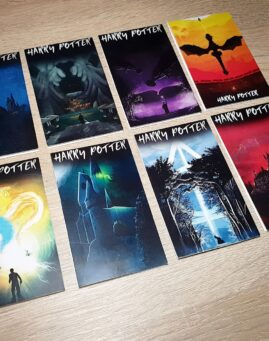 Harry Potter Set Bookmarkera