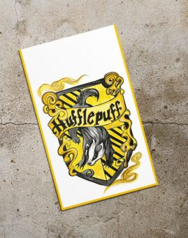 Hufflepuff Bookmarker