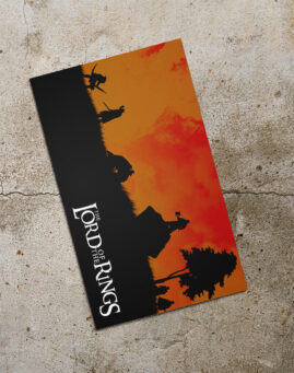 LOTR Silueta Bookmarker