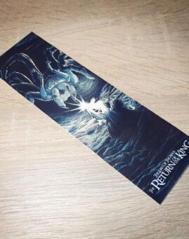 Lord of the Rings 3 Bukmarker
