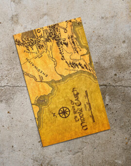 Middle Earth Bookmarker
