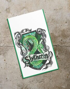 Slytherin Bookmarker