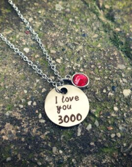 I love you 3000 ogrlica 1