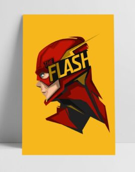 The Flash minimal poster